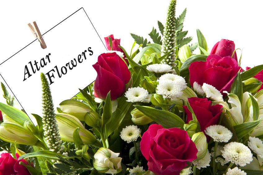 Altar Flowers Dedication