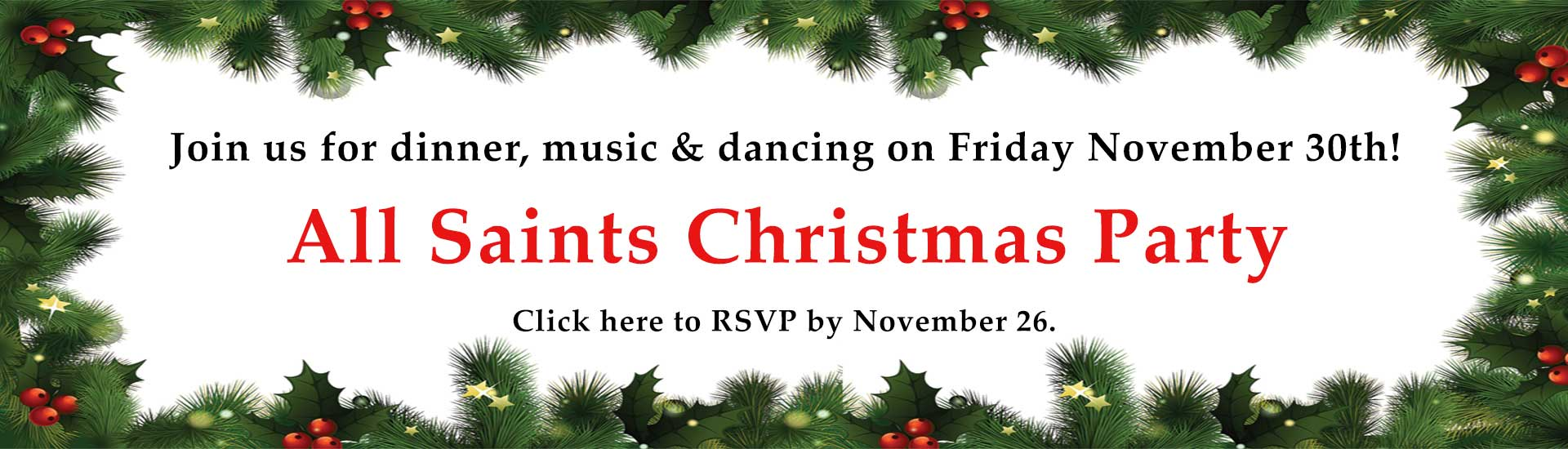 Christmas Party RSVP