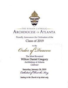ordination of deacon hedy sevilla