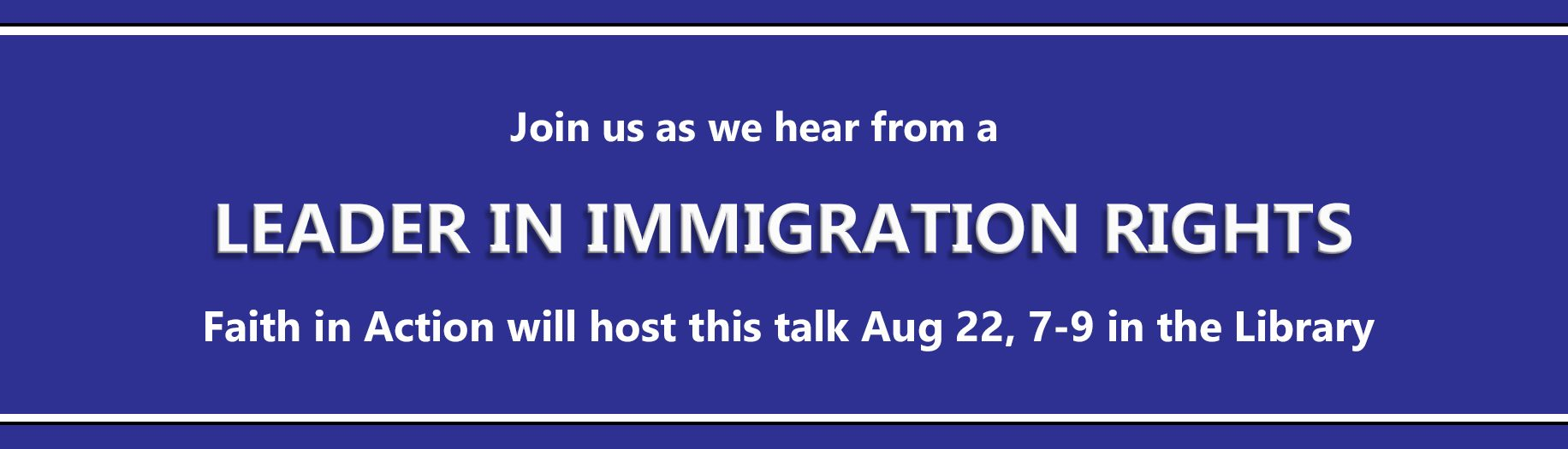 Immigration Rights Speaker