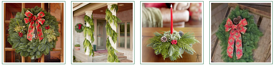 holiday greenery sale